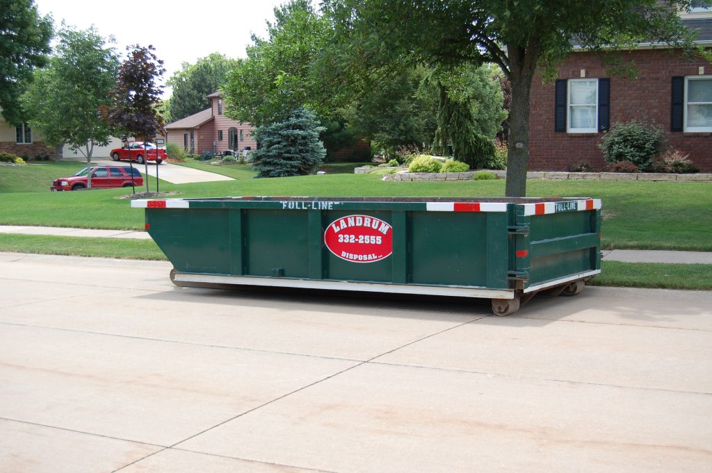 landrum disposal dumpster quad cities