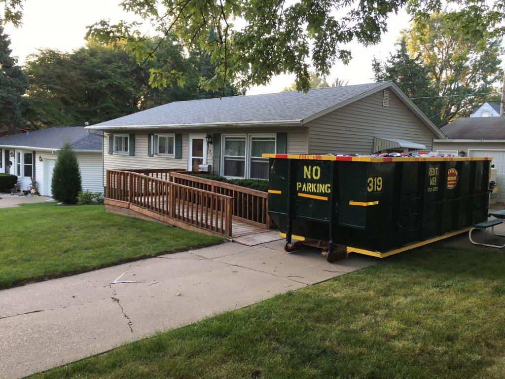 dumpster rental bettendorf